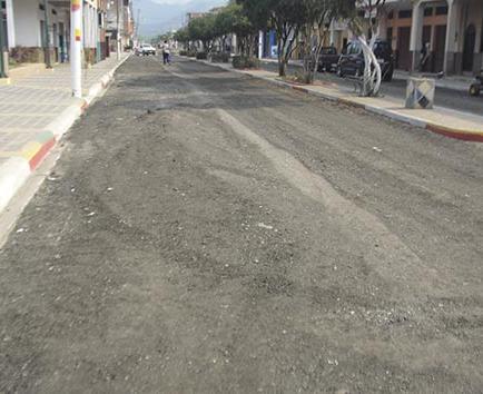 Continúan los arreglos en cinco calles de Junín