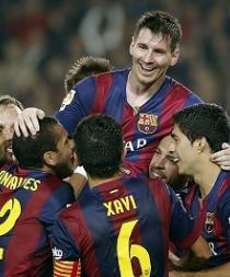 Messi supera a Raúl como máximo goleador histórico de la Liga de Campeones