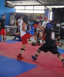Luchadores santodomingueños disputaron el último torneo del año