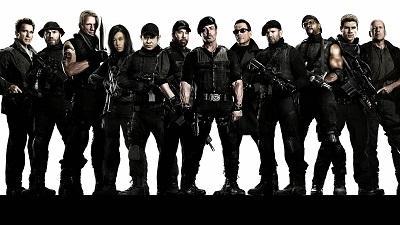 Dos detenidos en el Reino Unido por piratear la película 'Expendables 3'