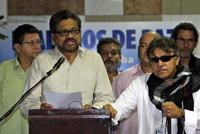 Las FARC piden evitar choques armados en la liberación del general Alzate