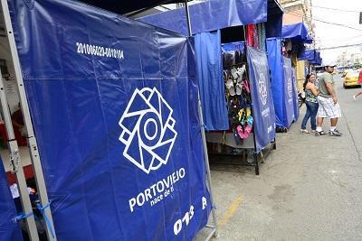 Comerciantes reclaman por las carpas distribuidas por el Municipio