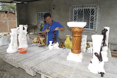 La pila, una cuna    de artesanos