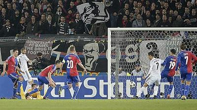 Real Madrid vence 1-0 al Basilea con un solitario gol de Cristiano Ronaldo