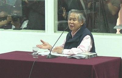 Fiscalía ratifica pedido de 8 años de cárcel para Fujimori