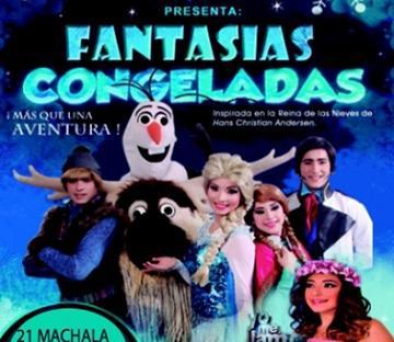 """""""Fantasías Congeladas"""" se presenta en Manabí"""