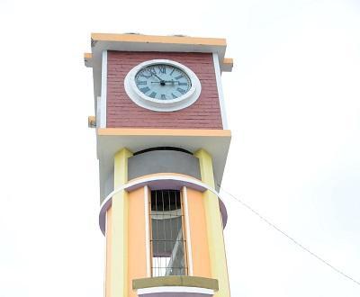 Reloj público no funciona