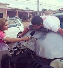 Reportera fue criticada en redes sociales por una fotografía falsa