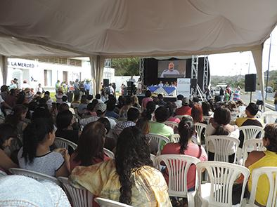 """Inauguran Centro Infantil del Buen Vivir """"Nuestra señora de la Merced"""""""