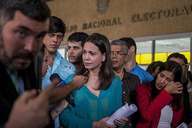 Machado pide renuncia De rectores del cne