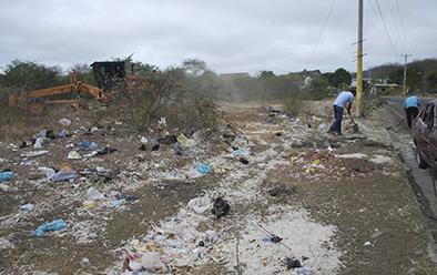 Se sancionarán a quienes boten basura en las vías de ingreso