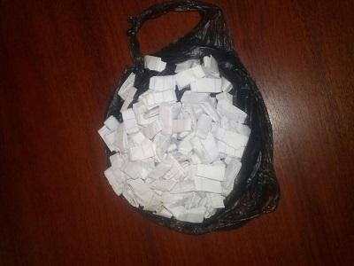 Hombre es detenido con cocaína en Manta