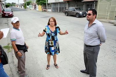 Moradores piden más obras para ciudadela de Manta