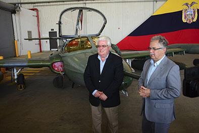 Entregan 3 aviones de la fae a uruguay