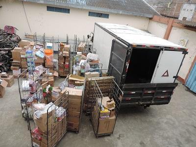 Recuperan camión y mercadería que había sido robada