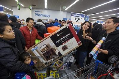 El 'viernes negro' abre en EE.UU. la mayor temporada de consumo del año