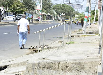 Control a obstáculos se extenderá a otras calles