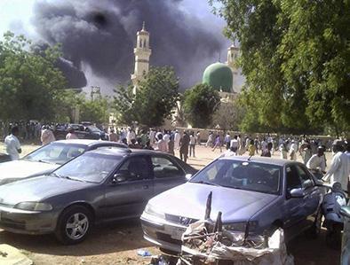 Más de 100 muertos en explosión
