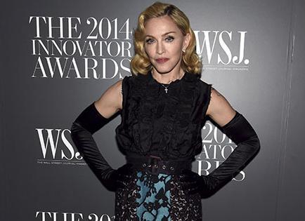 Filtran audio de tema de Madonna