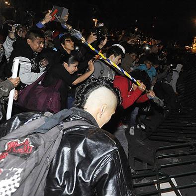 Liberan a los detenidos durante las protestas