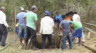 Pozos ayudarán al agro en Pedro Pablo Gómez
