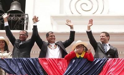 Alcalde de Quito se reúne con el presidente Correa y habla sobre el metro