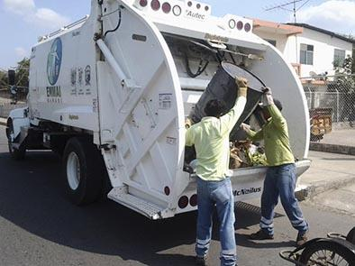 Hay apoyo a los servicios de recolección de basura