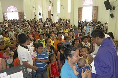 Visita masiva de fe
