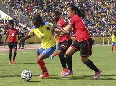 """""""Tri"""" femenina jugará ante Trinidad y Tobago en busca del Mundial 2015"""