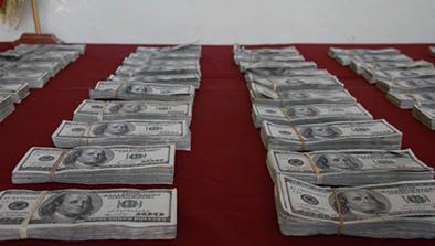 incautan más de $3  millones falsos