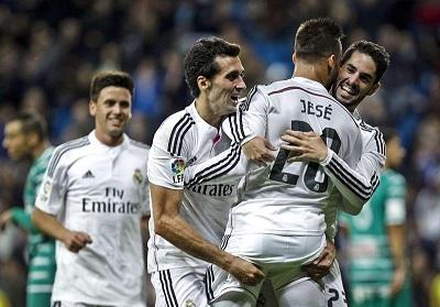 El Real Madrid, primer clasificado a los octavos de la Copa del Rey