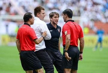 Luis Zubeldía es suspendido seis meses tras incidente con árbitro