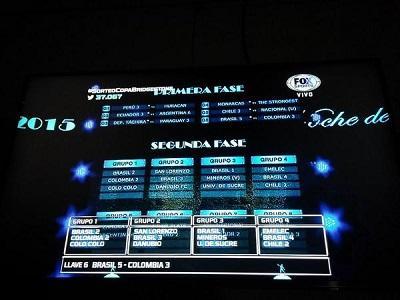 Se definen los grupos de la Copa Libertadores 2015