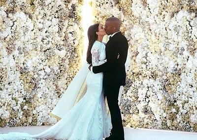 Beso de Kim Kardashian y Kanye West es la foto con más 'me gusta' en Instagram