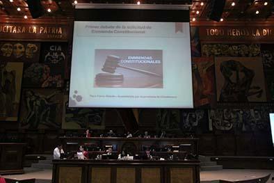 14 horas en debate de enmiendas