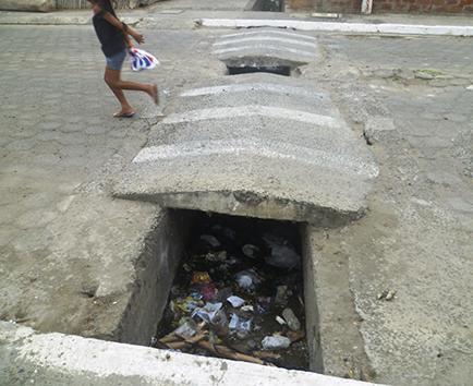 Piden limpieza de canales de aguas lluvias