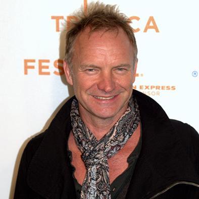 """Sting le canta a la """"carita de dios"""""""