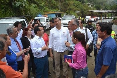 Correa realizará Enlace Ciudadano en Santo Domingo de los Tsáchilas