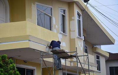 Plazo para pintar la fachada de las casas de santo domingo - Pintores de viviendas ...