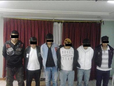 Desarticulan 7 presuntas bandas