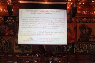 La Asamblea aprueba el proyecto de reformas a la Ley de Tránsito