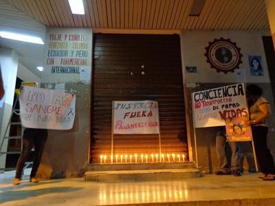 Familiares exigen justicia por accidente de Panamericana
