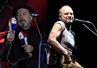 Blades y Sting, un cóctel de salsa y rock que prendió la fiesta en Quito