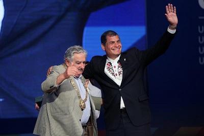 La integración de América Latina 'no tiene marcha atrás', dice Correa