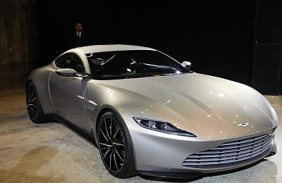 DB10, un Aston Martin creado para la nueva película de James Bon