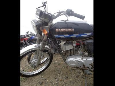 Encuentran una motocicleta abandonada