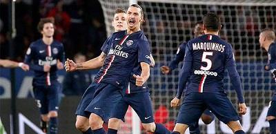 Doblete de Ibrahimovic le da la victoria al PSG