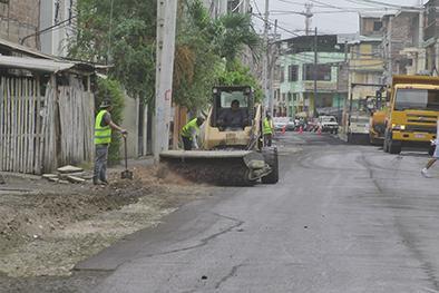 A fines de enero terminan de mejorar las 65 calles