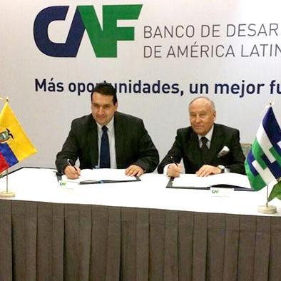 CAF otorga crédito de 200 millones de dólares para electricidad