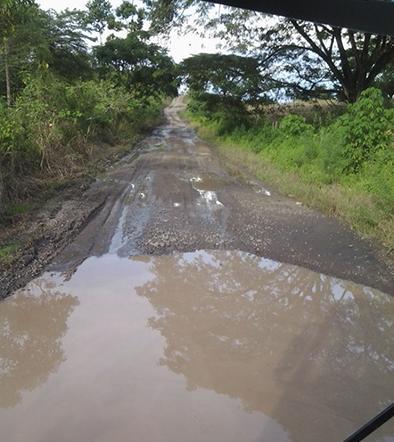 La vía San Juan-Balzar se termina de destruir